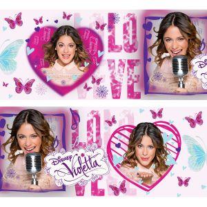 Decofun Frise adhésive Violetta Sing Love Disney Channel