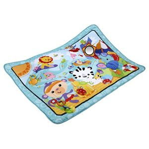Fisher-Price Tapis d'éveil géant Amis de la jungle