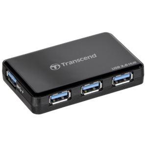 Transcend TS-HUB3K - Hub USB 3.0 4 Ports