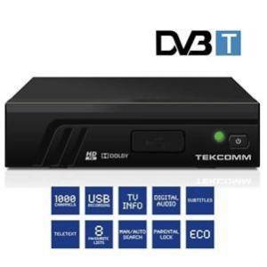 TEKCOMM TCT2100 - Récepteur numérique terrestre haute définition