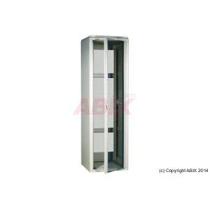 MCAD Baie réseau 600 x 800 27U grise