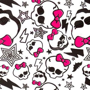 Cti Monster High White Velvet - Drap housse (90 x 190 cm)