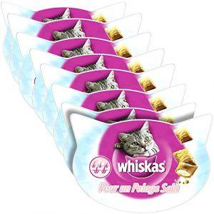 Whiskas Pour un pelage sain - 8 boîtes de 50 g