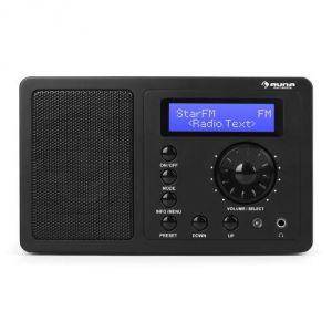Auna DR-130 BT - Radio numérique DAB+ FM Bluetooth