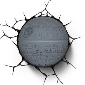 Veilleuse LED 3D Light FX Etoile Noire Star Wars 29 cm