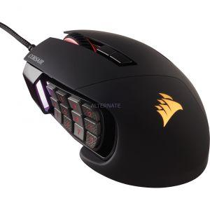 Corsair Scimitar - Souris Gaming optique filaire