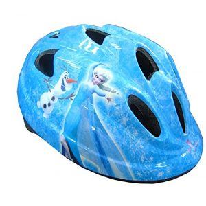 Casque Vélo Enfant Fille Reine des neiges 50-56 cm