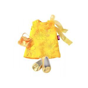 Gotz Robe jaune avec chaussures pour poupée (45-50 cm)