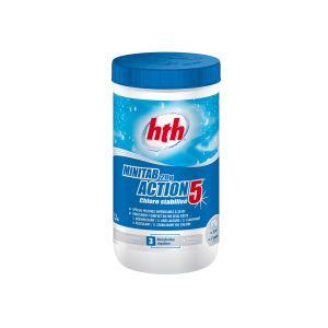 hth Chlore Minitab stabilisé multifonction 20 g - 1,20 kg