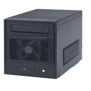 Smartteck EZ PLUG (ST-A9849.BG) - Boîtier Mini tour Cube avec alimentation 220W