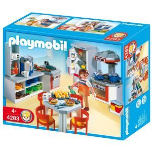 playmobil 4283 cuisine quip e comparer avec. Black Bedroom Furniture Sets. Home Design Ideas