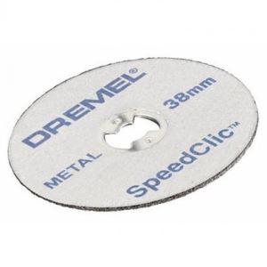 Dremel SC456 - EZ SpeedClic : pack de 5 disques à tronçonner pour la découpe des métaux