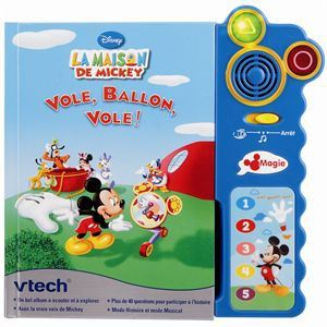 Vtech Magi Livre intéractif : La maison de Mickey