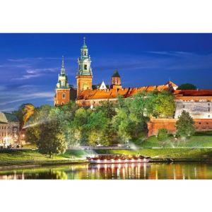 Castorland Château de Wawel la nuit - Cracovie, Pologne 1000 pièces