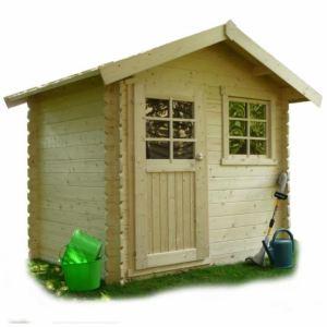 Solid S820 - Abri de jardin Saran en bois 28 mm 4,79 m2