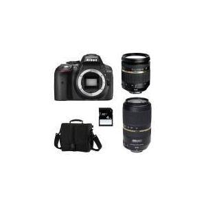 Nikon D5300 (avec 2 objectifs Tamron 17-50mm et Tamron 70-300mm)