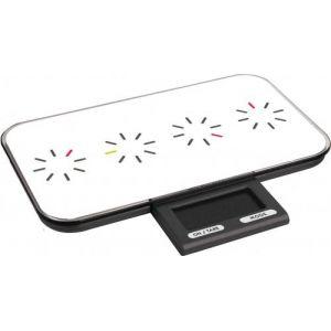 Pebbly Tic tac (88-444TW) - Balance électronique slim rectangulaire rétractable