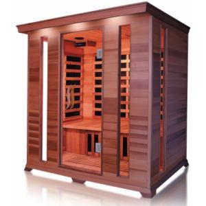 France Sauna Luxe 4 - Sauna cabine infrarouge pour 4 personnes
