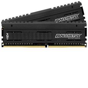 Crucial BLE2C4G4D26AFEA - Barrette mémoire Ballistix Elite 8 Go (4Go x2) DDR4 2666 MT/s DIMM 288 broches