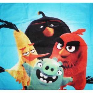 Parure housse de couette Angry Birds (140 x 200 cm)