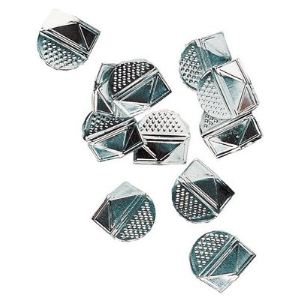 Mystbrand 1070/1071 - Boîte de 100 coins de lettres en aluminium