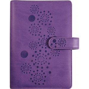 Exacompta 74444E - Organiseur Exatime 13,5x17 light Flora SAD violet