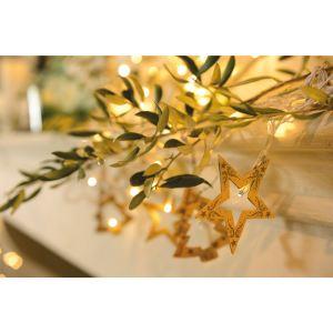 Blachère illumination Guirlande lumineuse étoile et sapin 8 LED (2m)