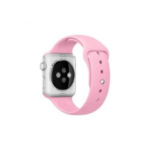 Apple MM9C2ZM/A - Bracelet pour Apple Watch sport 42mm pink light