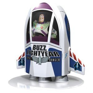 ThrustMaster Toy Story 3 Spaceship Charger - Station de recharge Buzz l'Eclair pour Wiimote