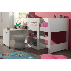 lit mezzanine combine comparer 191 offres. Black Bedroom Furniture Sets. Home Design Ideas