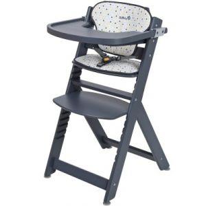 Safety 1st Timbre - Chaise haute en bois avec coussin
