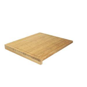 Ambiance Nature 508815 - Planche à découper en bambou avec rebord (46 x 52,5 cm)