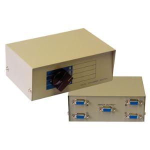 MCL Samar HD-15ABCD - Switch VGA manuel 4 voies avec 1 câble télécommande