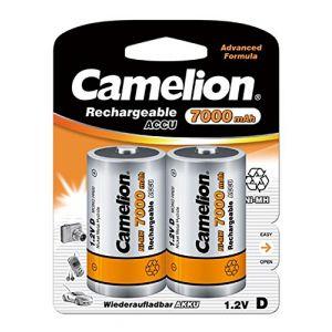 Camelion Blister de 2 accus R20 (D) 7000mAH