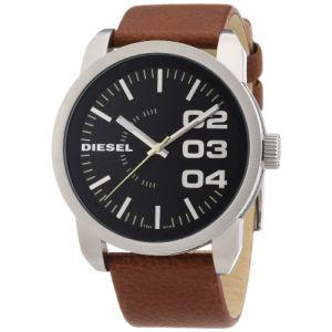 Diesel DZ151 - Montre pour homme bracelet en cuir