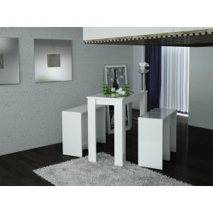 tabouret bar laque blanc comparer 54 offres. Black Bedroom Furniture Sets. Home Design Ideas