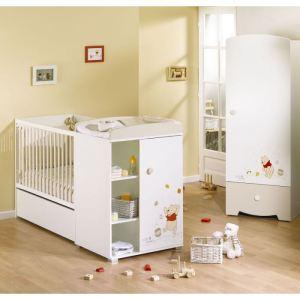 Babycalin Lit combiné évolutif Winnie Doodle Craft Winnie (L179 x H106 x P71 cm)