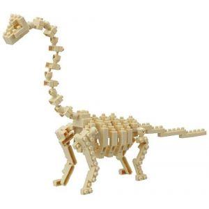 Kawada Nanoblock Brachiosaures Skeleton - Puzzle 3D 290 pièces