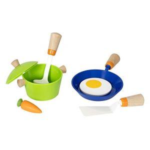 Brio Dinette en bois : Accessoires de cuisine (à l'assortiment)
