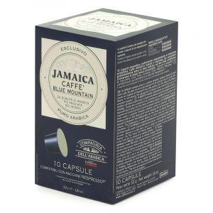 Cie Dell'Arabica 10 capsules Jamaica Blue Mountain pour Nespresso