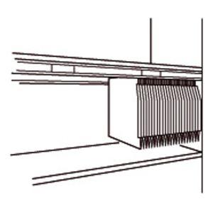 achat otto office jeu de 2 rails plastique pour dossiers suspendus 750 mm. Black Bedroom Furniture Sets. Home Design Ideas