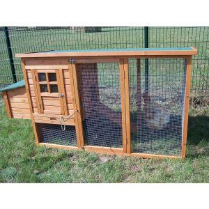 Foresta PO 2070 - Poulailler standard 3 à 4 poules 1,5 m²