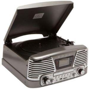 Bigben Interactive TD79 Epok - Tourne disque radio CD-MP3 avec port USB et lecteur de carte SD