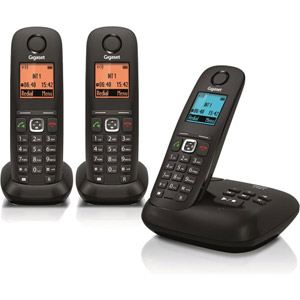 Gigaset A540A Trio - Téléphone sans fil avec répondeur 3 combinés
