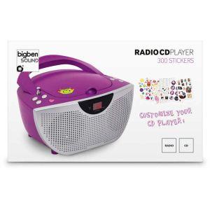 Bigben Interactive CD55 - Lecteur CD radio