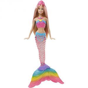 Mattel Barbie sirène couleurs et lumières