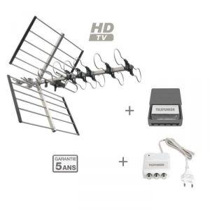 Telefunken Pack T-TNTYAGI2TV - A2 - Antenne extérieure