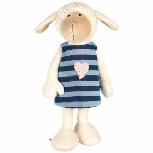 Sigikid Peluche Sweety : Mouton avec robe réversible 40 cm