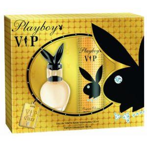 Playboy VIP pour femme - Coffret eau de toilette et déodorant