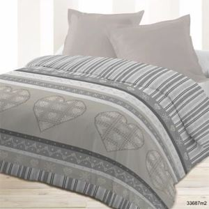 691 offres couette imprimee double face comparez avant d 39 acheter en ligne. Black Bedroom Furniture Sets. Home Design Ideas